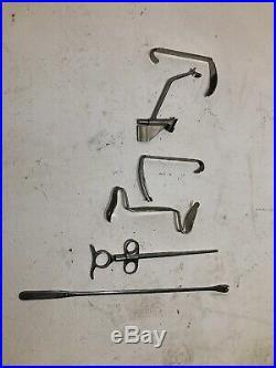 Vintage Down Bros Medical Equipment X6 Job Lot Joblot