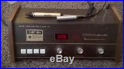 Vintage Dynatron 820 Helium Neon Laser Dynatronics Aperture Optical Stylus