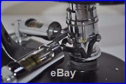 Vintage ETEC Microscope Pneumatic Remote Control Joystick Steampunk Brass