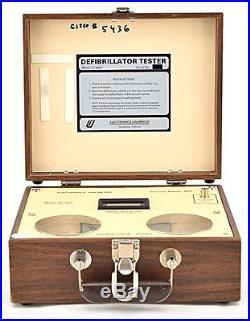 Vintage Electronics Unlimited DT-650 Dual Range Defibrillator Tester Assembly