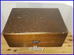 Vintage Enameltone Dental Plastic Medical Equipment 12 bottles in Box m32
