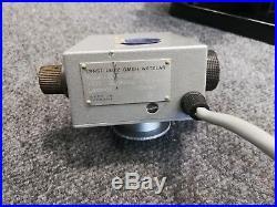 Vintage Ernst Leitz Wetzlar Binocular Microscope 4 Objectives