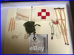 Vintage GI Joe Action Marine Medical Equipment Set #7720