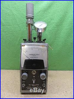 Vintage Gardner Associates Portable Small Particle Detector S/N 1044 In Case