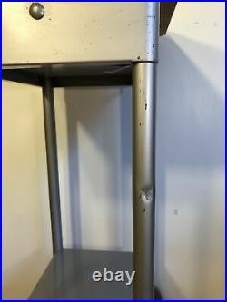 Vintage Gomco Medical Equipment Industrial Cabinet Table Stand Casters Dentist