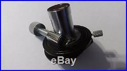 Vintage Leitz Heine Phase Contrast Dark Field Microscope Condenser Nice Catch