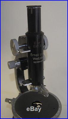 Vintage Leitz Polarizing Microscope