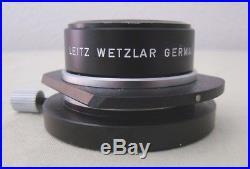 Vintage Leitz Wetzlar Dry Dark Field Condenser D. 80.95