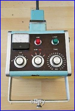 Vintage Med-Tech Diagnostic X-Ray Unit Porta Ray MT Super 8020 Veterinary Use