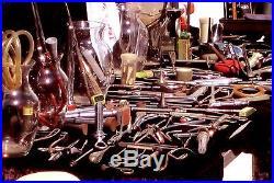 Vintage Medical Equip 1930's, 40's Etc Old California Sawbones/ Beautiful