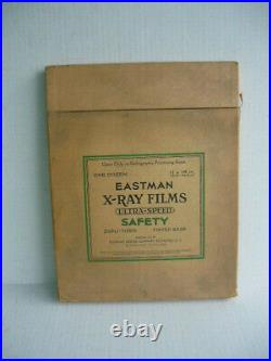 Vintage Medical Equipment 11 X 14 Eastman X-ray Films Ultra Speed New-old Stock