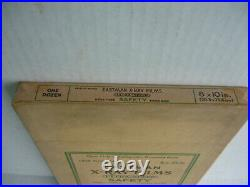 Vintage Medical Equipment, 8 X 10 Eastman X-ray Films Un-opened New-old Stock