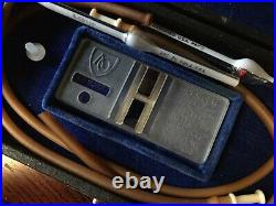 Vintage Medical Equipment ADAMS SPENCER HEMACYTOMETER WithCase & Accessories