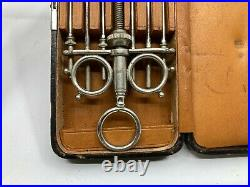 Vintage Medical Equipment Ingal's Nasal Snare in original fitted case