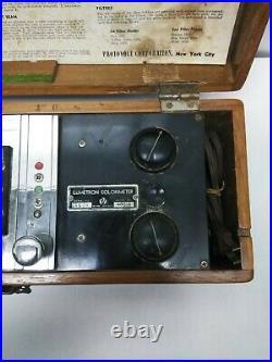 Vintage Medical Equipment Lumetron colorimeter