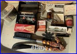 Vintage Medical Equipment Needles Staples Random Tool Bottle Lot