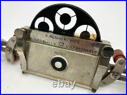 Vintage Medical Equipment Spiegel-Condensor Microscope parts in original case