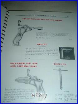 Vintage Medical Surgeon Trade catalog Orthopedic Fracture Tools Equipment 1965