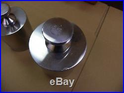 Vintage Metric Calibration Weight Set-2kg to 5kg-In Exquisite Wooden Box