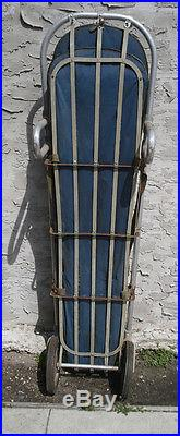 Vintage Military Litter Basket Stretcher Rescue-Emergency-Ambulance-Fire NO PAD