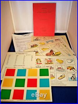 Vintage NFER STYCAR VISION & HEARING TESTS Manuals, Equipment, Charts & Records
