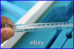 Vintage NOS Nalco P0240 P0412 Glass Medical Lab Equipment Pyrex 3025 Beaker