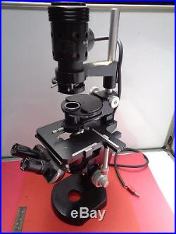 Vintage Nikon MS inverted compound microscope LOTNKN49MRO