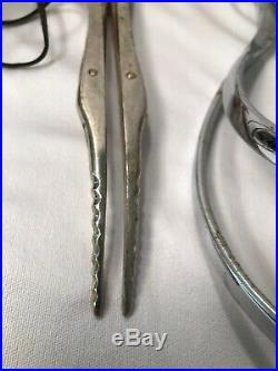 Vintage OB GYN Obstetric Birthing Tools & Antique Medical Equipment Assorted L4