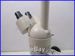 Vintage Olympus SZ Series Stereo Microscope Stereozoom with Base Stand Binocular