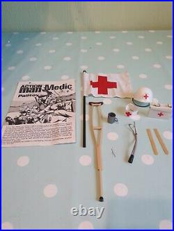 Vintage Original Action Man Medical Equipment Spares To Complete Your Figure