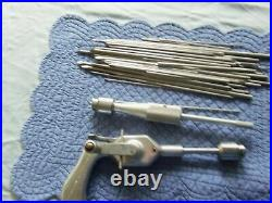 Vintage Orthopedic Equip Co Medical Surgical Drill & Bits