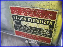 Vintage! PELTON & CRANE FL2, PELTON Sterilizer Autoclave
