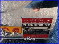 Vintage Pelton Crane Autoclave Sterilizer Medical Dental Tattoo