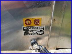 Vintage Pelton Crane Medical Dental Sterilizer Equipment Industrial Steam a16