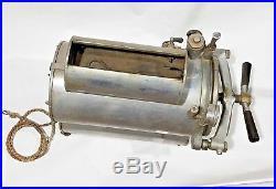 Vintage Pelton Super-Sterilizer Model HP 10 120V Autoclave Omniclave Tattoo Lab