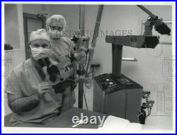 Vintage Photos 1983 Dr. Loyce Harrison Medical Center Equipment 9 X 7 Inches