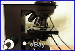 Vintage Professional Carl Zeiss Jena JENAVAL Upright Microscope