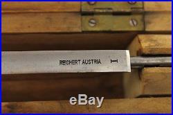 Vintage REICHERT AUSTRIA Microtome Blade 1960's
