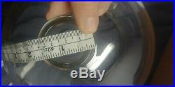 Vintage SGA Scientific Labratory Inc. Glass Bell Jar Pyrex Display Dome 16 in
