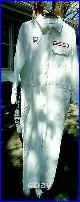 Vintage Safety Equipment WHITE COVERALLS Fire Department Medical Kansas City MO