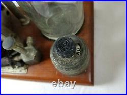 Vintage Sorensen Medical or Dental Ether Anesthesia Equipment Machine Steampunk