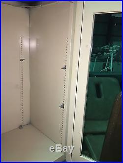 Vintage Steel Doctors Medical Office Exam Surgical Industrial Floor Cabinet