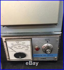 Vintage Thermolyne 1300 Furnace Model # F-b1315m Sybron