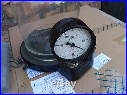 Vintage Vacuum Pump Machine Hand Operated Experiment Education Glass Bell