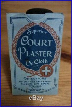 Vintage Victorian WW1 Cloth plaster first aid RARE Nursing Medical Doctor