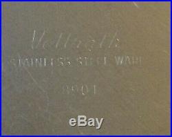 Vintage Vollrath 8901 Medical Hospital Equipment Stainless Steel Ware Bedpan