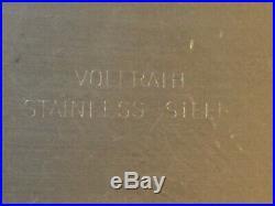 Vintage Vollrath Medical Hospital Equipment Stainless Steel Ware Bedpan