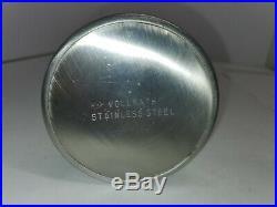 Vintage Vollrath Stainless Steel Medical Equip Forceps Holder