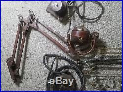 Vintage antique dental equipment motor drill steampunk parts