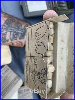 Vtg Davis Emergency Equipment Company First Aid Medical Kit 9x5x3 And Box